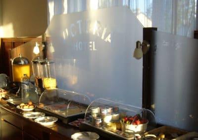 Hotel Victoria : son petit-déjeuner