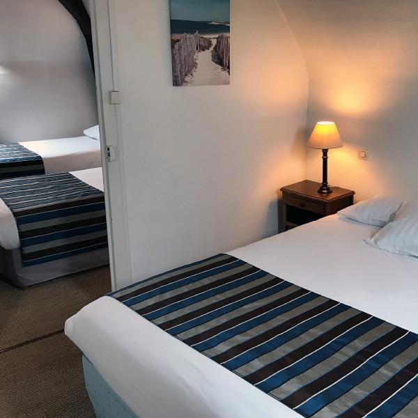 hotel Chatelaillon plage chambre familiale